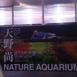 天野尚 NATURE AQUARIUM展に行ってきました!